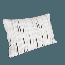 Symphony Boudoir Pillowcase, White