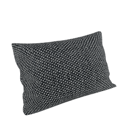 Maharam Pillow in Lanalux 11'' x 21'', Black,White