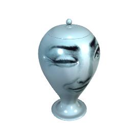Fornasetti L'antipatico - Large Vase