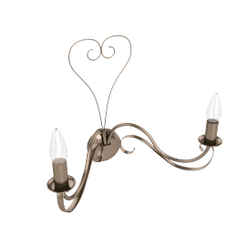 Olivia Wall Light, 2 Arm