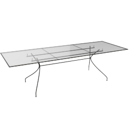 Emu Piano Extending Garden Table