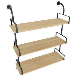 Amy 3-Tier Wall Shelf