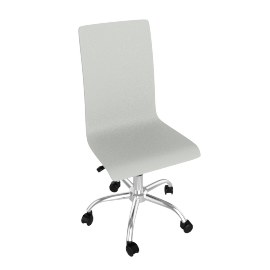 Madison Desk Chair, White