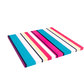 Outdoor Stripe Placemat, Multi