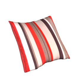 Anoko Cushion, Red