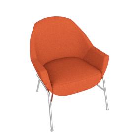 Thonet S 831, Orange