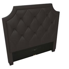 Stellar Neo Single Headboard, Brown