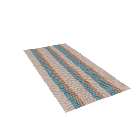 Solid Stripes Floor Mat - Small Runner