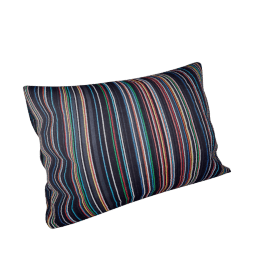 Maharam Pillow in Narrow Sequential Stripes 11'' x 21''