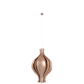 Onion Pendant Small - Copper