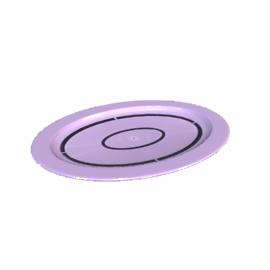 Acrylic Oval Platter, Purple