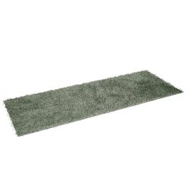 Angora Shaggy Rug - 80x210 cms, Green