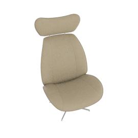 Tazio Chair, Light Grey