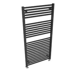 Heated Towel Rail 1212 x 600, anthracite