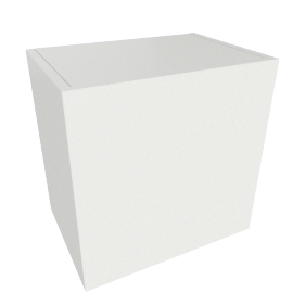 Bennet 1-Door Cabinet, White