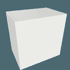 Bennet 1-Door Cabinet, White