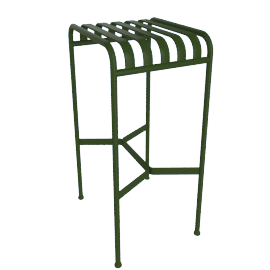 Palissade Barstool, Green