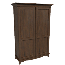 Elegance 2 Door Wardrobe