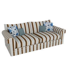 Burghley Grand Sofa, Sky