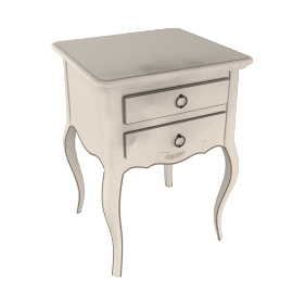 John Lewis Sophia 2-drawer Bedside Table