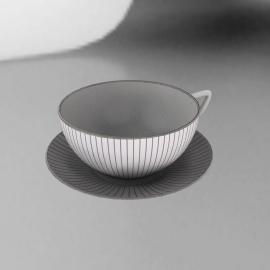 Wedgwood Jasper Conran Pinstripe Tea Saucer