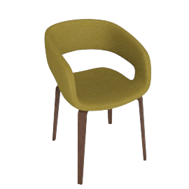 Pavlov Dining Chair, Green