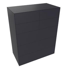 Lauki Tall Dresser, Graphite