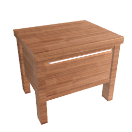 Nova Bedside Table