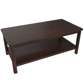 DAYMEN COFFEE TABLE, BRN