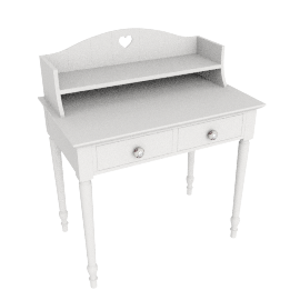Victoria Dressing Table and Top, Ivory