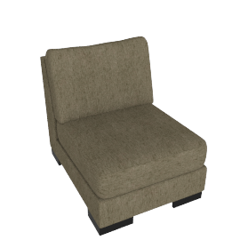 Signature 1 Seater Armless, Camel