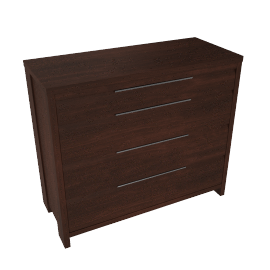 Nova 4 Drawer Wide Chest