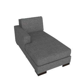 Signature Chaise Left, Stone