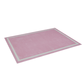 Bellas Tufted Rug - 120x160 cms, Pink