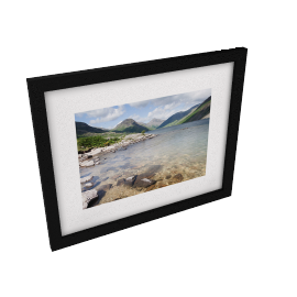 James Bell - Wastwater Summer Framed Print, 44 x 54cm