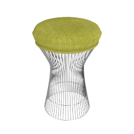 Platner Stool - Fabric