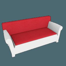"Kartell Bubble Club Sofa 1"" Sunbrella Seat Cushion"