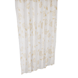 Flower Shower Curtain- 240x180 cms