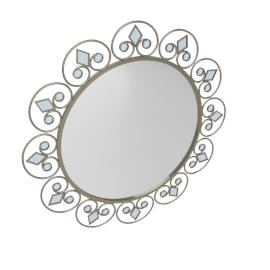 Cabora Wall Mirror - 90x3.5 cms