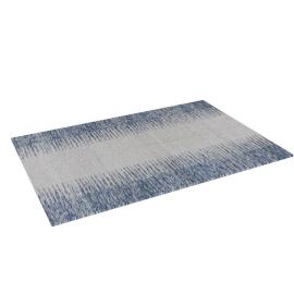 Ikat Dhurrie - 60x90 cms, Blue