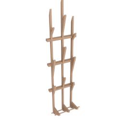 Hawthorn coat rack, pine
