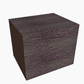 Geo Chunky Block Shelves, Chocolate