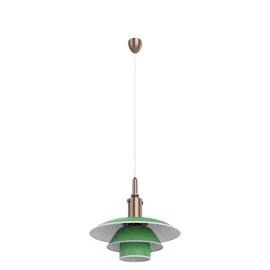 Louis Poulsen PH 3½-3, green