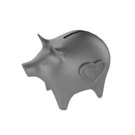 Vera Wang Baby Collection Piggy Bank