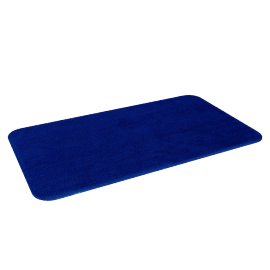 Clean Feet Bath Mat - 40x70 cms, Blue