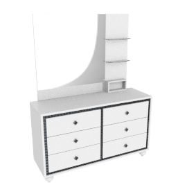 Helen Dresser with Mirror