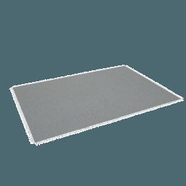 Chilewich Market Fringe Large Floor Mat, Quartz