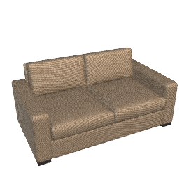 Portola Sofa - 66 in Ultrasuede