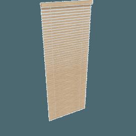 Wooden Venetian Blind, Havana, W60cm