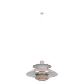 PH5 Pendant Lamp, Rose/Green